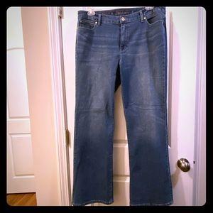 JLo bootcut jeans dark wash
